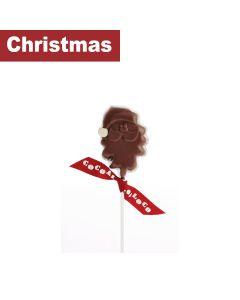 Cocoa Loco - Chocolate Santa Lolly – Milk - 24 x 40g