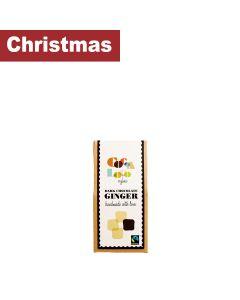 Cocoa Loco - Dark Chocolate Ginger - 6 x 100g