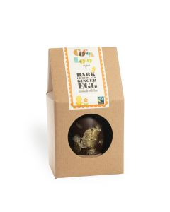 Cocoa Loco - Dark Chocolate Ginger Easter Egg - 6 x 225g