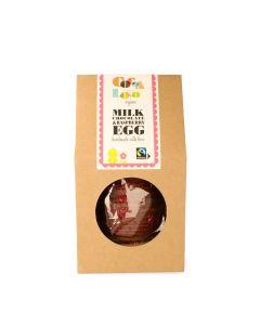 Cocoa Loco - Milk Chocolate & Raspberry Easter Egg - 6x225g