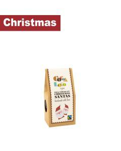 Cocoa Loco - Milk Chocolate Santas - 6 x 100g