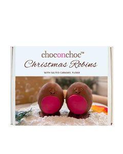 Choc on Choc - Robins (Filled with Salted Caramel Fudge) - 6 x 330g