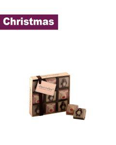 choconchoc - Chocolate Penguins & Chocolate Reindeers  - 6 x 110g