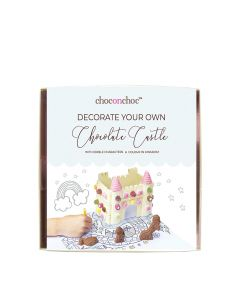 Choc on Choc - Decorate Your Own Castle - White Choc - 6x400g