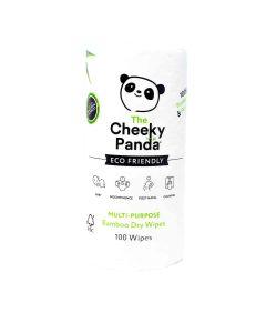 The Cheeky Panda - Multi Purpose Bamboo Dry Wipes Rolls - 10 x 210g
