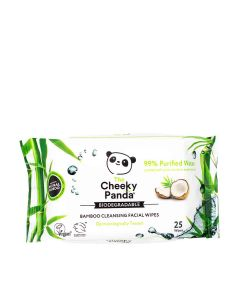 The Cheeky Panda - Facial Cleansing Wipes Coconut Scented - 24 x 190g