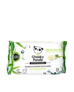 The Cheeky Panda - Facial Cleansing Wipes Rose Scented - 24 x 190g