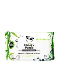 The Cheeky Panda - Facial Cleansing Wipes Unscented - 24 x 190g