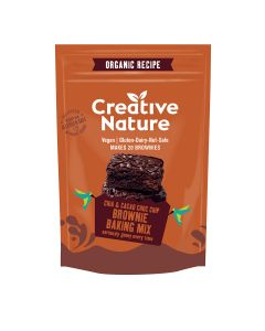 Creative Nature Brownie Mix 400g packet