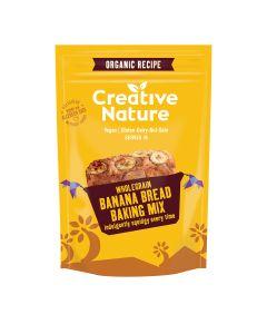 Creative Nature - Organic Wholegrain Banana Bread Mix - 6 x 250g