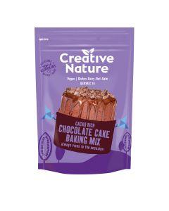 Creative Nature - Cacao Rich Chocolate Cake Baking Mix - 6 x 300g