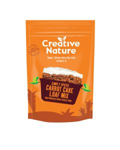 Creative Nature - Carrot Cake Baking Mix - 6 x 250g