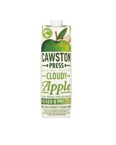Cawston Press - Cloudy Apple Juice - 6 x 1L