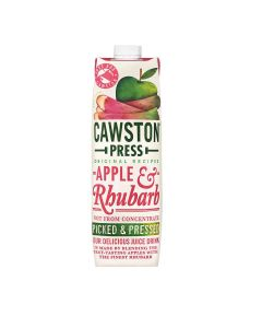 Cawston Press - Apple & Rhubarb Juice - 6 x 1L