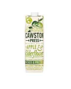 Cawston Press - Apple & Elderflower Juice - 6 x 1L