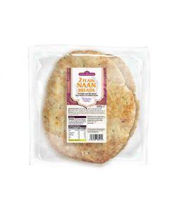Curry Sauce Co, The - 2 Plain Tandoori Naan Bread - 10 x 260g