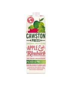 Cawston Press - Apple & Rhubarb Juice - 6 x 1L