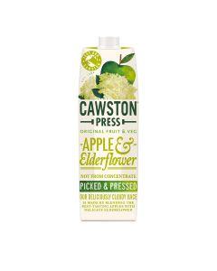 Cawston Press - Apple & Elderflower Juice - 6 x 1L