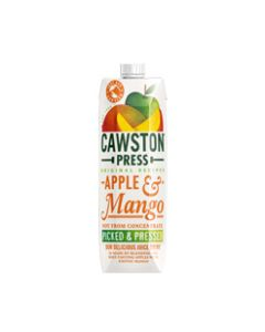 Cawston Press - Apple & Mango Juice - 6 x 1 L