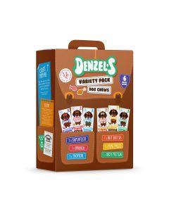 Denzel's - Variety pack of Dog chews - 8 x 350g