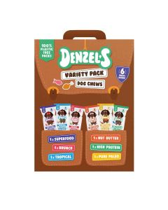 Denzel's - Variety Pack of Dog Chews (Includes 6 Pack) - 8 x 450g