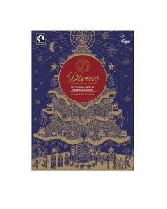 Divine Chocolate - 70% Dark Chocolate Advent Calendar - 12 x 85g