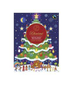 Divine Chocolate - Milk Chocolate Advent Calendar - 12 x 85g