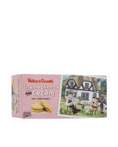 Dean's - Wallace & Gromit Strawberries & Cream Biscuits - 8 x 130g