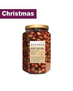 Drivers - Mini Onions in Balsamic Vinegar with Honey - 4 x 1.7kg