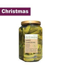 Drivers - Cornichons in White Balsamic Vinegar - 4 x 1.7kg