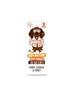 Denzel's - Nut Butter Dog Chews - 10 x 55g