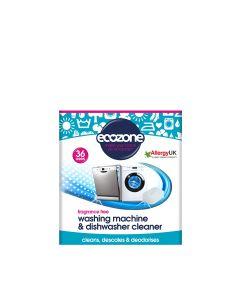 Ecozone - Washing Machine & Dishwasher Cleaner - 36 Tablets - 10 x 720g
