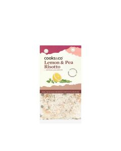 Cooks & Co - Lemon & Pea Risotto - 6 x 190g