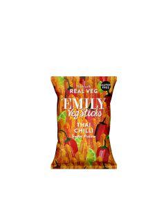 Emily Crisps - Sweet Potato Sticks - Chilli & Lime - 12 x 35g