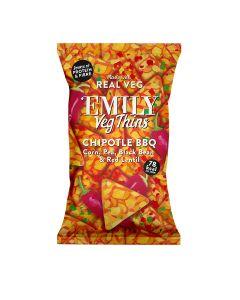 Emily Crisps - Chipotle BBQ Veg Thins - 8 x 80g
