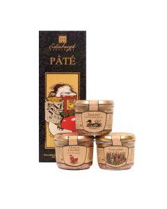Edingburgh Preserves - 3 Jar Pate Box - 6 x 540g