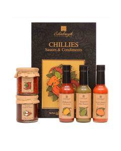 Edingburgh Preserves - Chilli Sauce & Condiments Gift Box - 6 x 809g