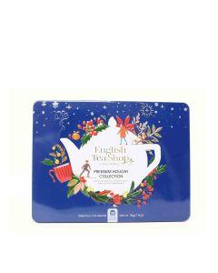 English Tea Shop - Premium Holiday Collection Blue Gift Tin (36 Tea Bag Sachets) - 6 x 54g