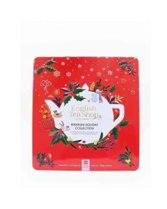 English Tea Shop - Premium Holiday Collection Red Gift Tin (72 Tea Bag Sachets) - 6 x 108g