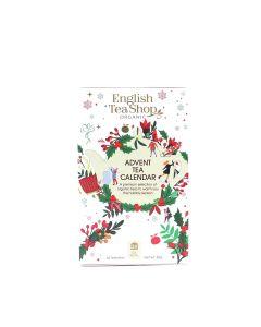 English Tea Shop - White Advent Calendar (25 Tea Bag Sachets) - 6 x 37.5g