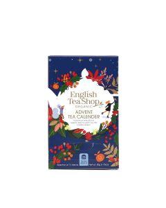 English Tea Shop - Blue Advent Calendar (25 Tea Bag Sachets) - 6 x 37.5g