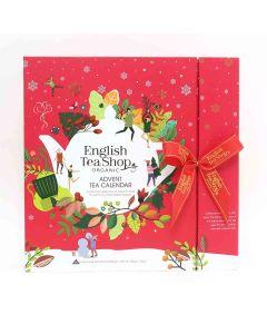 English Tea Shop - Book Style Red Advent Calendar - 6 x 50g