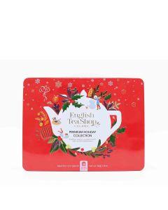 English Tea Shop - Premium Holiday Collection Red Gift Tin (36 Tea Bag Sachets) - 6 x 54g