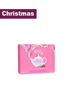 English Tea Shop - Organic Premium Collection Pink Tin - 6 x 60g