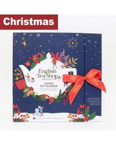 English Tea Shop - Book Style Christmas Night Advent Calendar - Blue - 6 x 50g