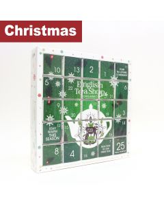 English Tea Shop - Green Advent Calendar - 6 x 50g
