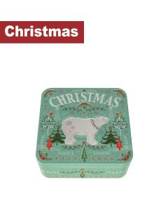 Farmhouse Biscuits Ltd - Christmas Polar Bear Tin - 8 x 250g
