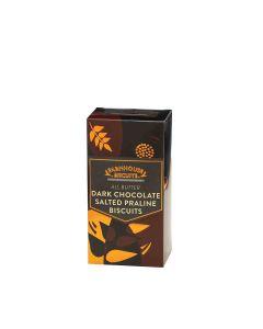 Farmhouse Biscuits - Half Dark Chocolate Salted Praline Biscuits - 12 x 150g