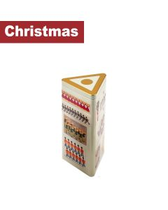 Farmhouse Biscuits Ltd - 12 Days Of Christmas Triangle Tin - 12 x 200g