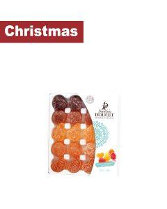 François Doucet Confiseur - Fruit Jellies with No Added Sugar: Orange, Pear, Apricot, Strawberry & Quince - 32 x 200g